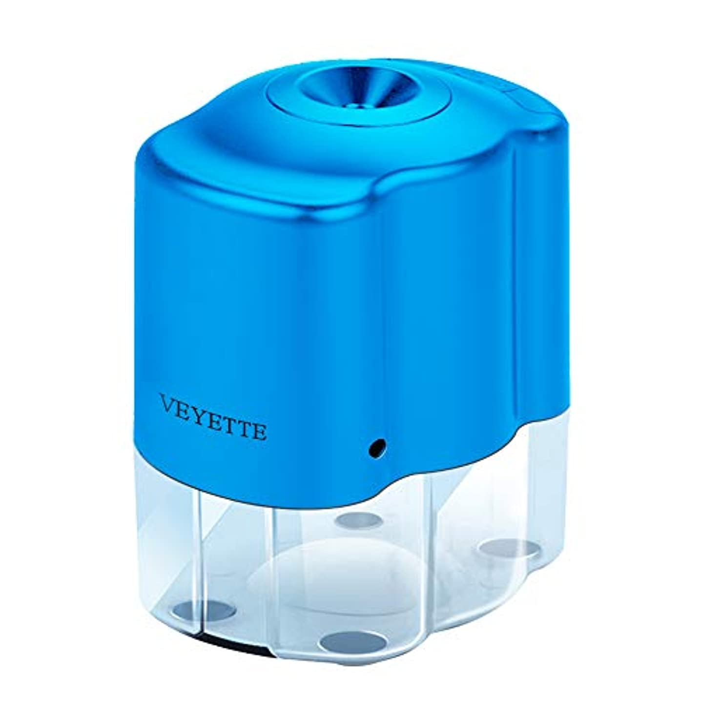 Electric Pencil Sharpener,VEYTTE Efficient Pencil Sharpener with Helical Blade for No.2 Pencils and Colored Pencils, Adapter Included, Blue