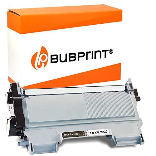 Bubprint XXL Toner kompatibel für Brother TN-2220 DCP-7055 DCP-7055W DCP-7065DN HL-2130 HL-2135W HL-2240 HL-2240D HL-2250 HL-2250DN MFC-7360 MFC-7360N MFC-7460DN MFC-7860DW Fax 2840 Schwarz