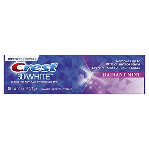 Crest 3d Tp Rad Mint Size .85z Crest 3dw Toothpaste Radiant Mint .85z