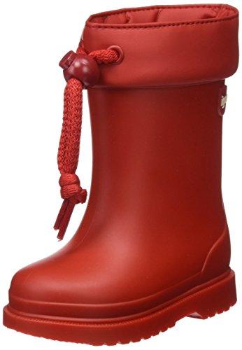 Igor Chufo Cuello, Botas de Agua Unisex niños, Rojo (Red), 28 EU