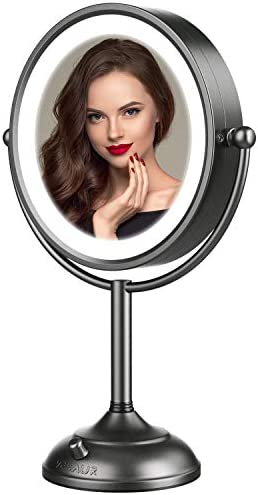 Professional 8 5 Lighted Makeup Mirror 10X Magnifying Vanity Mirror with 32 Medical LED Lights product image