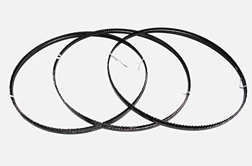 3 x Sägebänder Sägeband 2240 x 6 x 0,65 mm 6 ZpZ Holz Elektra Beckum Einhell