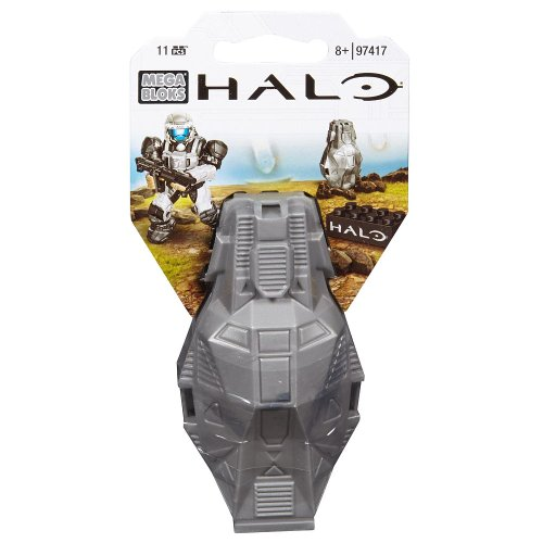 Mega Bloks Halo Metallic Silver ODST Toy Figure