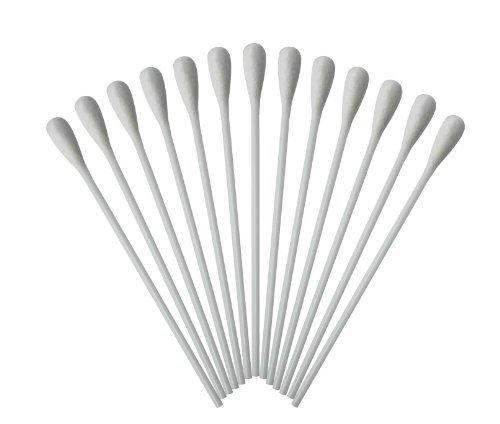 Medizinische Wattestäbchen mit großem Kopf Watteträger PE-Stab 15cm 500 Stück hygienisch verpackt TIGA-MED