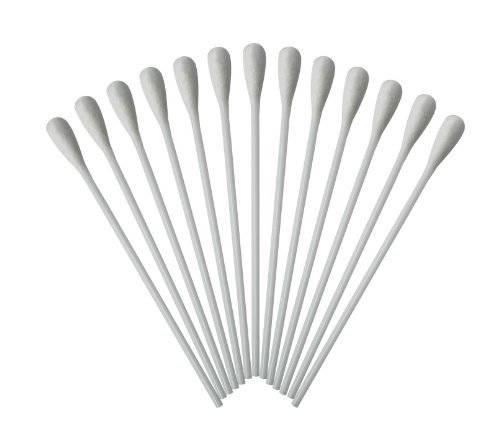 Lot de 500 cotons-tiges à grosse tête avec bâtonnet 15 cm en polyéthylène de qualité Tiga-Med