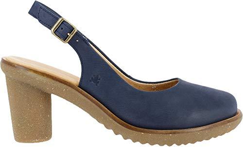 El Naturalista Trivia, Zapatos de tacón con Punta Cerrada para Mujer, Azul (Ocean Ocean), 41 EU