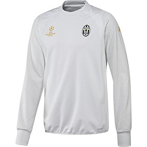 adidas Juventus EU TRG Top - Sweatshirt für Herren, Farbe Weiß, Größe S