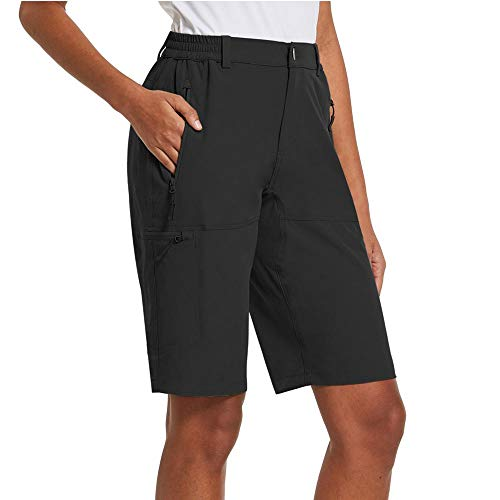 BALEAF Women's Hiking Shorts Quick Dry with Zipper...