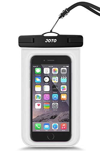 JOTO Uni Wasserdicht Tasche Handyhülle,IPX8 Unterwasser Tasche für Handy bis 6.9