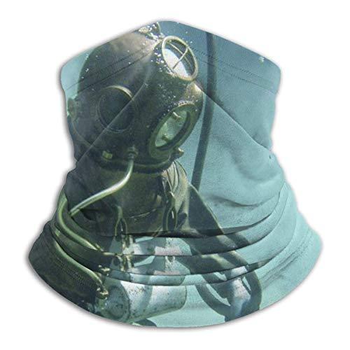 Dydan Tne Calentador de Cuello, Traje de Buceo, Gorro de Microfibra Suave, Bufanda Facial, máscara para Clima frío de Invierno para Hombres y Mujeres