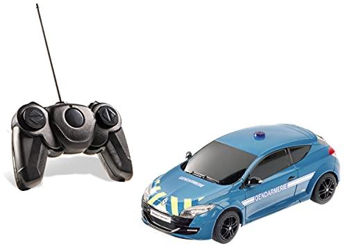 Mondo Motors - voiture radiocommandée - Renault Megane RS Gendarmerie - échelle 1:24ème - 18cm - jouet enfant - 3 ans et plus - 63166