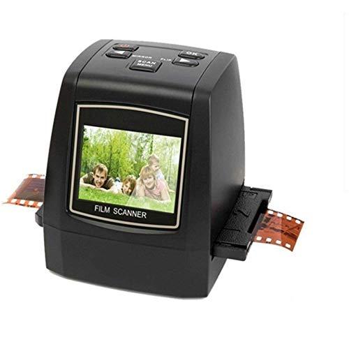 Scanner für Folie 35/135 Mm B&W, Dias, Negative zum Konvertieren von JPEG-Bildern mit 2,36 Zoll LCD-Bildschirm Vorschau Vorschau und Funktionen