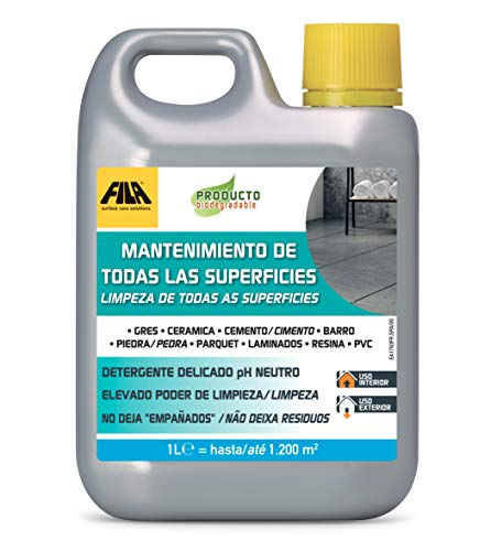 Fila Surface Care Solutions MANTENIMIENTO DE LAS SUPERFICIES