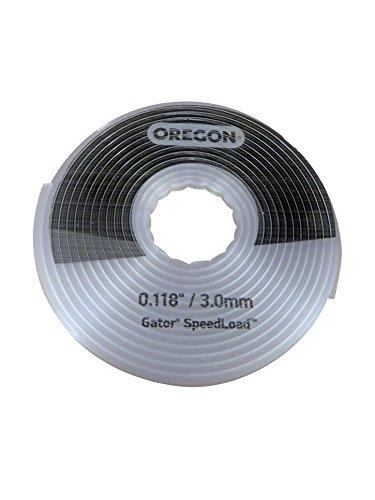 Oregon 24-518-03 Fil de coupe Gator SpeedLoad, 3,0 mm paquet de 3