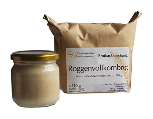 Leidenschaft-Brot - Brotbackmischung Roggenvollkornbrot ca. 510 g (+ 200g Saueteig)