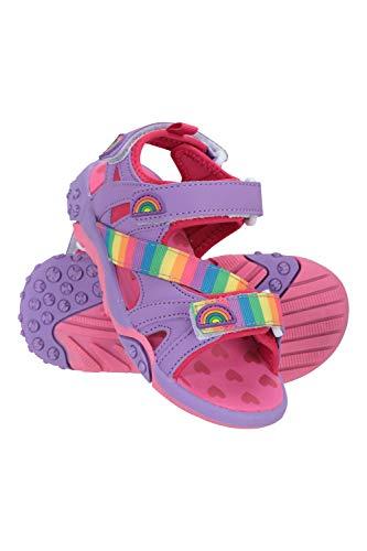 Mountain Warehouse Sandalias Seaside Junior para niños - Zapatos Flexible  Forro de Neopreno - Tira de talón Desmontable - para Primavera  Verano  Paseos y Viajes Rosa Brillante 30.5