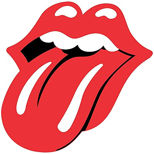 Set of 3 - Rolling Stones Tounge - Full Color CAD Cut Car Logo - Sticker Graphic - Auto, Wall, Laptop, Cell, Truck Sticker for Windows, Cars, Trucks