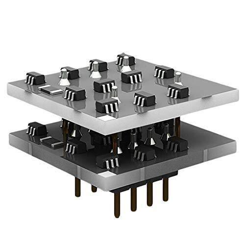 JUNYYANG プリンタアクセサリー Sx35Bデュアルディスクリートオペアンプチップモジュールハイファイオーディオのプリアンプ会はMuses02を交換してださい 電作キット