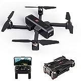 Goolsky MJX B4W GPS Drone RC con Telecamera 2K 5G WiFi FPV Flusso Ottico Posizionamento Quadcopter Pieghevole Follow Me Altitude Hold Drone