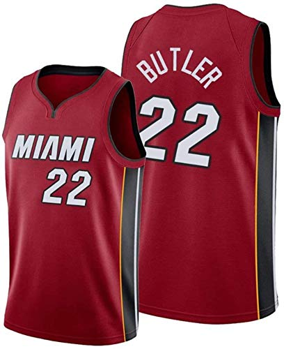 Miami Heat # 6 Ventilador De Baloncesto Lebron James Fresca Uniforme Transpirable Chaleco De La Tela De La Camiseta,Rojo,S Camisetas De Baloncesto De Los Hombres
