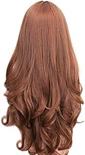 شعر مستعار منفوش بضفائر طويلة مجعدة قليلا V108-01