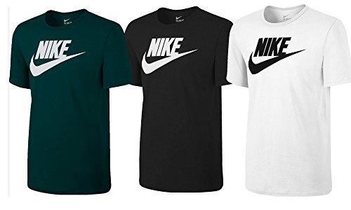Nike Herren Tee-Futura Icon Training T-Shirt, Kohlenstoff Heidekraut Grau, M