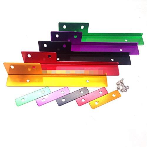 Kit License Plate Relocator Frame bracket Car Accessories (Color : Green)