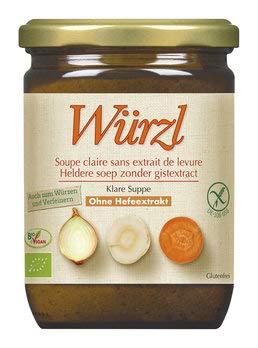 EDEN Bio Würzl Klare Suppe hefefrei Glas (2 x 250 gr)