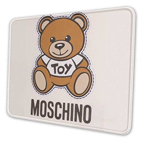 MGBGAT Moschino Bear Mouse Pad, Non-Slip Bottom, Waterproof Mousepad with Stitched Edges, Mouse Pads for Computers, Laptop, Gaming, Office & Home