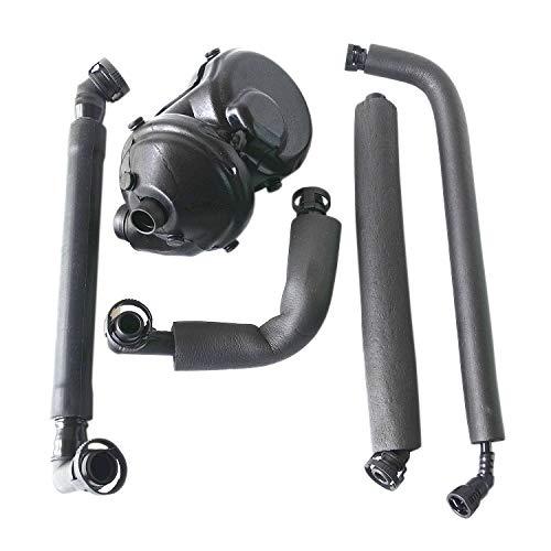 11617533400 PCV Crankcase Vent Valve & Breather Hose Kit for BM-W 1 3 5 6 7 Series Z4 E46 E39 E83 E65 E85 with M52 M54 Engine (2003-) 11157532628 AKWH