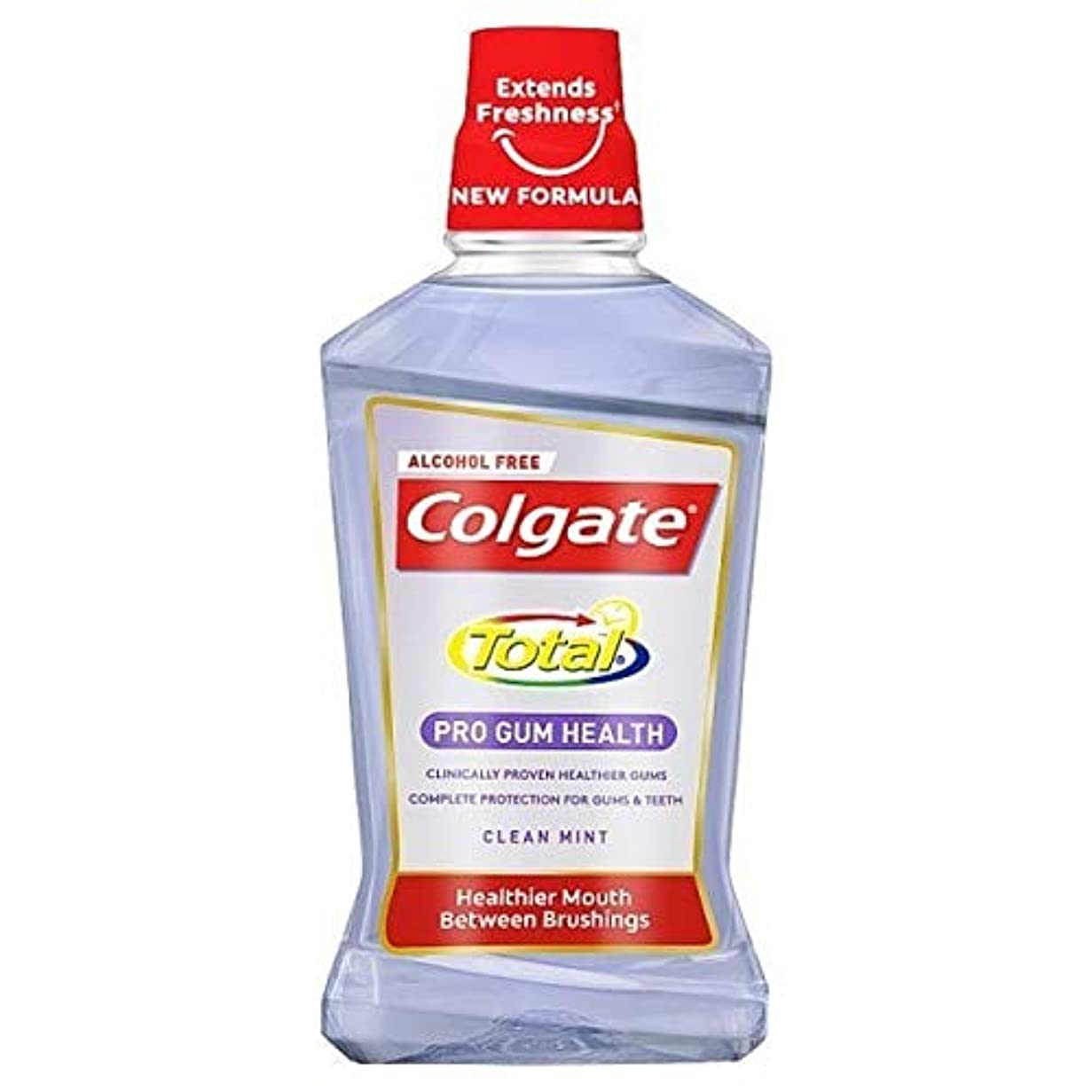 請負業者ミトン思慮のない[Colgate ] コルゲートトータルプロガムの健康クリーンミントマウスウォッシュ500ミリリットル - Colgate Total Pro Gum Health Clean Mint Mouthwash 500ml [並行輸入品]