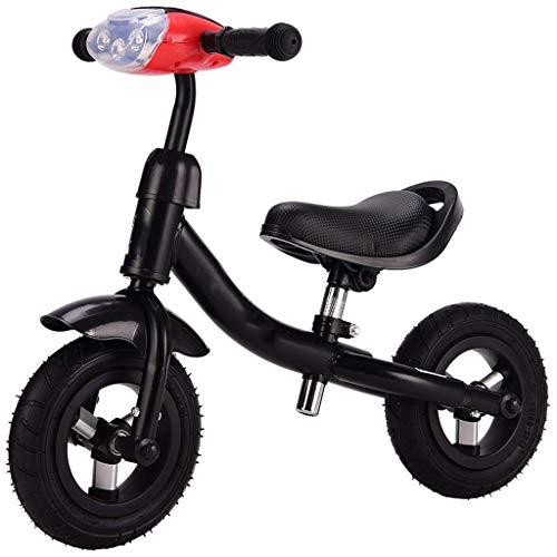 Kinder Gleichgewicht Fahrrad kein Pedal-Fahrrad 1,5-3 Jahre alt Aluminiumlegierung Stoßdämpfende Scooter mit Musik-Licht 8 Zoll