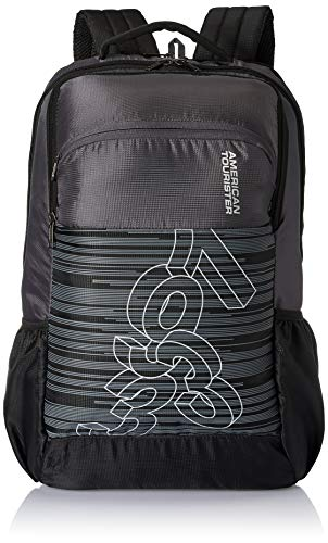 American Tourister Jet 28 Ltrs Black Casual Backpack (FE0 (0) 09 001)