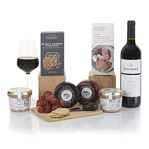 Wine, Cheese and Pate Hamper - Gourmet Hampers & Food...