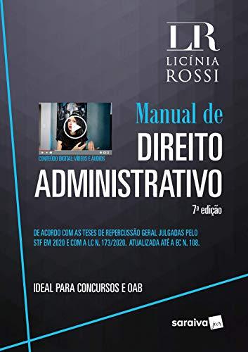 Manual De Direito Administrativo - 7ª Edição 2021