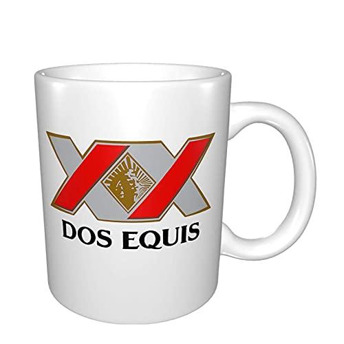 Cerveza Xx Dos Equis Logo Tazas De Cerveza Taza De Café Blanco Regalo Gor Mom