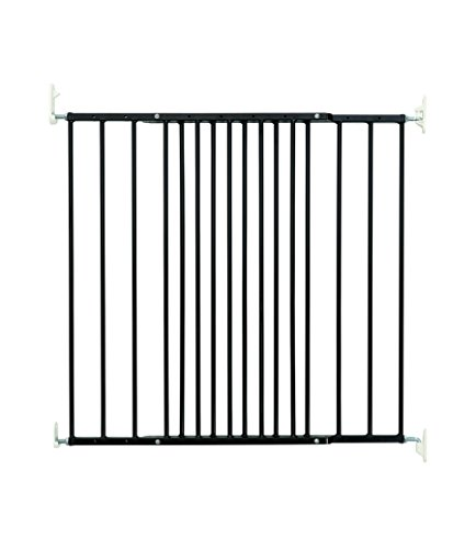 BabyDan Multidan Metal Gate Door/Stairs Black 106,8 62.5 cm