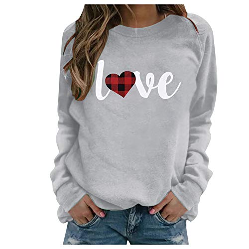 Sweatshirts for Women, Elephant Graphic Floral Print Casual Long Sleeve Pullover Tops Shirts Sweaters