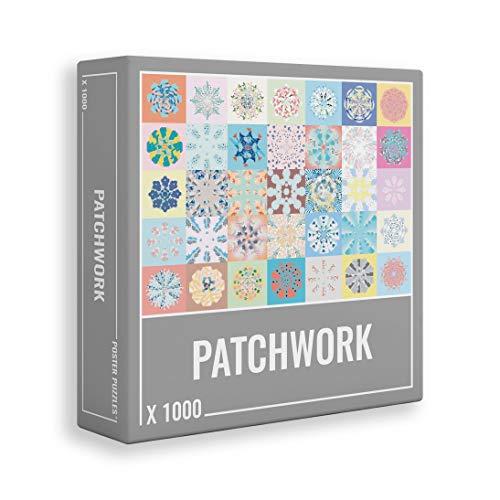 Patchwork - Rompecabezas premium de 1000 piezas para adultos