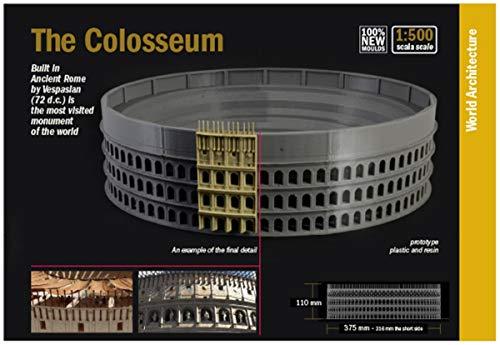 ITALERI 68003-1:500 Colosseum, modelbouw, bouwpakket, standmodelbouw, knutselen, hobby, lijmen, plastic kit, detailgetrouw