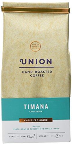 Union Hand Roasted Coffee Timana Colombia Ground Coffee, 200g