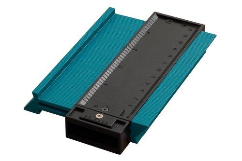 631707000 Wolfcraft 6926000 1 Konturenlehre 125 mm Einfaches Abtasten von Formen und Übertragen auf das Werkstück
