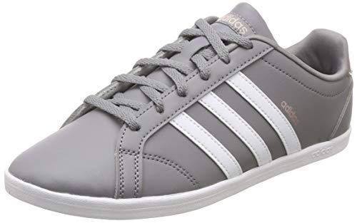 adidas Coneo Qt, Zapatillas de Tenis Mujer, Gris (Grethr/Ftwwht/Vapgre), 44 EU