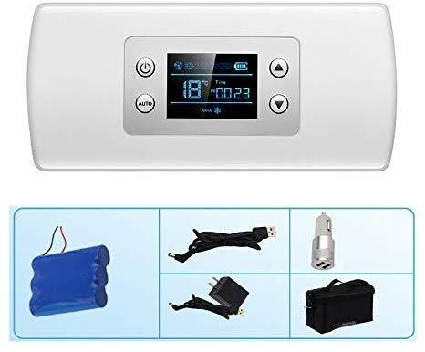 LLYU Insulum-koelkast, natrium-koelbox, autokoelkast, medische koelkast met 2 tot 8 graden Celsius, medicijnkoeler, geschikt voor reizen, interferentie en opslag van medicijnen