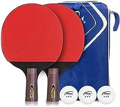 Crossway Table Tennis Racket Set,include 2 Racket,3 balls and 1 bag