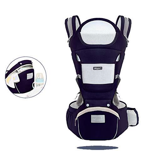 Suporte Canguru para bebê - Ergonômico (Azul Escuro)