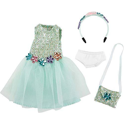 Käthe Kruse 0126868 Vera Geburtstag Outfit, hellblau