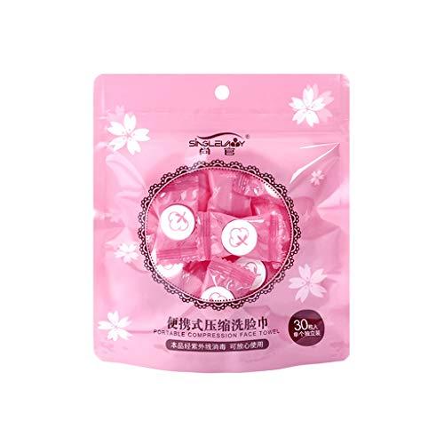 Yue668 Weltraum Einweg Trocken Komprimierte Münze Gesicht Handtuch Baby Tücher Tablet Reinigungstuch für Trave Hotel zu Hause zu Retten (B)