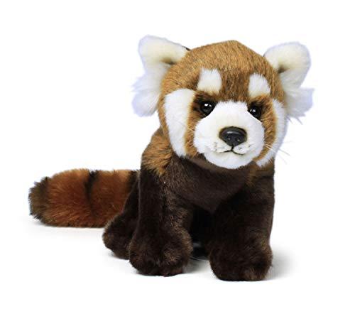 WWF WWF14790 Plüsch Roter Panda, realistisch gestaltetes Plüschtier, ca. 23 cm groß und wunderbar weich