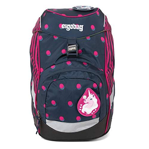 ergobag Unisex-Kinder Prime Backpack Single Rucksack Mehrfarbig (Shoobi Doobear)